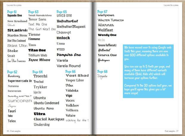 Fonts 6